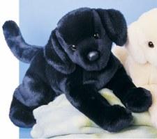 Douglas Chester Black Lab Stuffed Animal