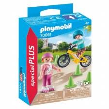 Children with Skates/Bike