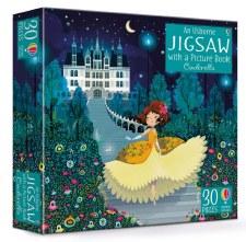 Usborne Cinderalla Book/Jigsaw Set