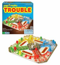 Classic Trouble Board Game - Winning Moves