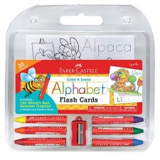 Color/Learn Alphabet Flash Car