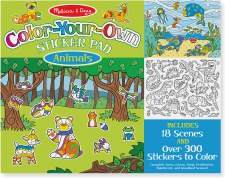 Color Own Sticker-Animals