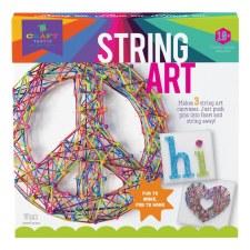 Craft-tastic String Art Peace