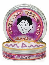 Crazy Aaron's Phantom Thinking Putty - Arctic Flare