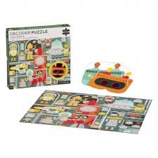Decoder Puzzle-Robot Factory