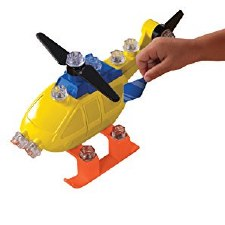 Design & Drill Power Play Vehicles Helicopter - Educational Insights