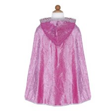 Diamond Sparkle Cape-Dark Pink