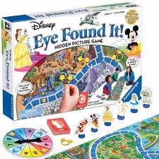 Disney I Found It Game