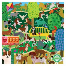 Dogs in the Park 1000 Piece