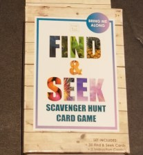 Find/Seek Scavenger Hunt Game