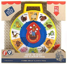 Fisher Price See 'n Say The Farmer Says - Schylling