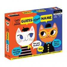 Cats and Dogs Guess Meow Name Guessing Game - Mudpuppy