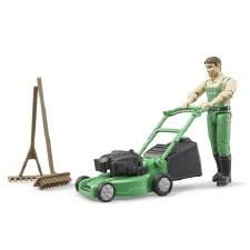 Gardener w/Mower/Accessories