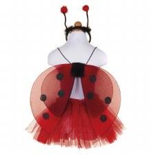 Glitter Ladybug Tutu/Wings