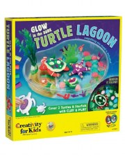 Creativity for Kids Glow in the Dark Turtle Lagoon