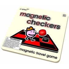 Go Play Magnetic Checkers