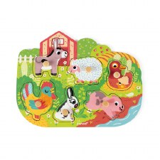 Happy Farm Puzzle