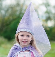 Costume Accessory - Diamond Sparkle Hat Lilac