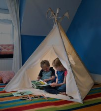 Play Tent Natural Canvas 4'