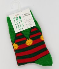 Holiday Kid's Socks-Elfin S/M