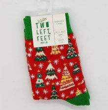 Holiday Kid's Socks-Trim S/M
