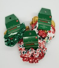 Holiday Scrunchie Set