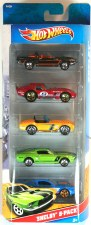 Hot Wheel 5 Pack