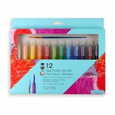 Watercolor Pastels/Brush 12