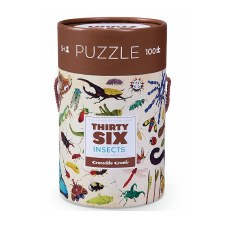 Insects Puzzle 100 Piece