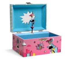 Superhero Musical Jewelry Box