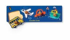 Knob Puzzle Vehicles