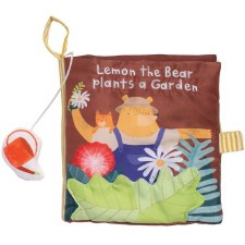 Lemon the Bear Plants a Garden