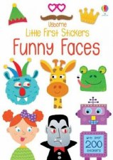 Little Stickers:Funny Faces