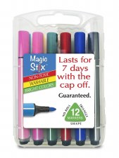 Magic Markers 12 pack