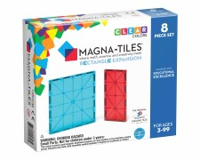 Magna-Tiles Rectangle Expansion 8 Piece Set
