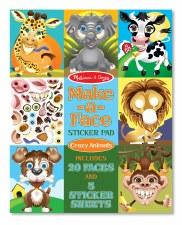 Make-A-Face Sticker Crazy Anim