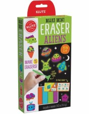 Make Mini Erasers-Aliens