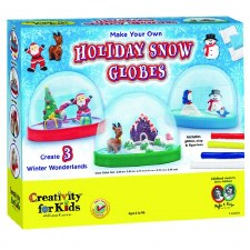 Make Your Own Holiday Snow Globes - Creativity for Kids