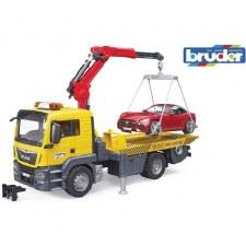 MAN Tow Truck w/Roadster