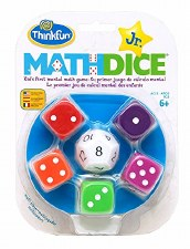 Math Dice Junior Game
