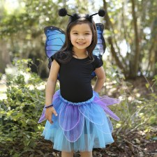 Midnight Butterfly Wings/Tutu