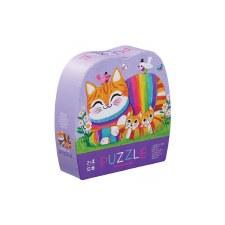 Mini Puzzle 12 Piece CuddlyCat