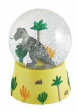 Musical Snow Globe Dinosaur