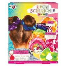 Neon Tie Dye Scrunchie Kit