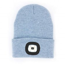 Night Scout Beanie-Light Blue