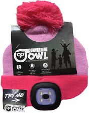 Night Scout Beanie-Pink