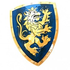 Noble Knight Shield Blue