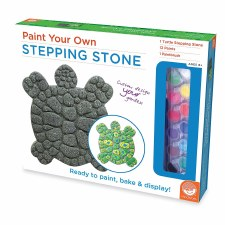 Paint Your Own Stepping Stone Turtle - Mindware