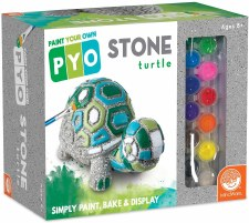 Paint Own Garden Turtle Figure