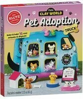 Pet Adoption Truck Mini Clay